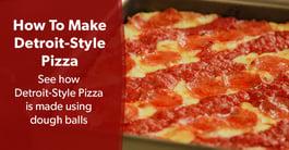 Featured Recipe for Pizzeria Operators: Detroit-Style