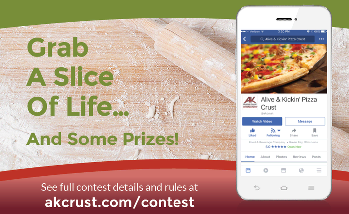Pizzeria Facebook Contest