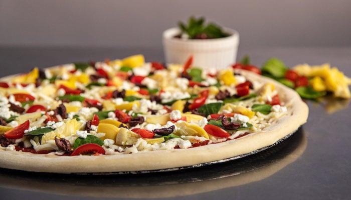 Par-Baked Crusts C-Store Pizza