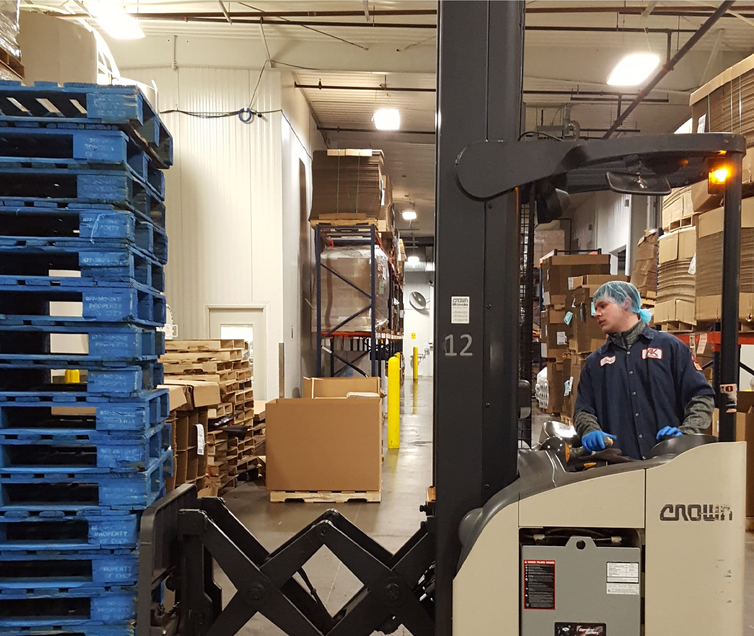Jobs - Forklift, stand up edit