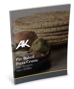 Par-Baked Pizza Crusts Benefits for C-Stores