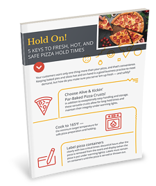 Pizza Hold Time Infographic