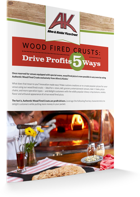 Wood Fired Pizza Crusts: Drive Profit 5 Ways