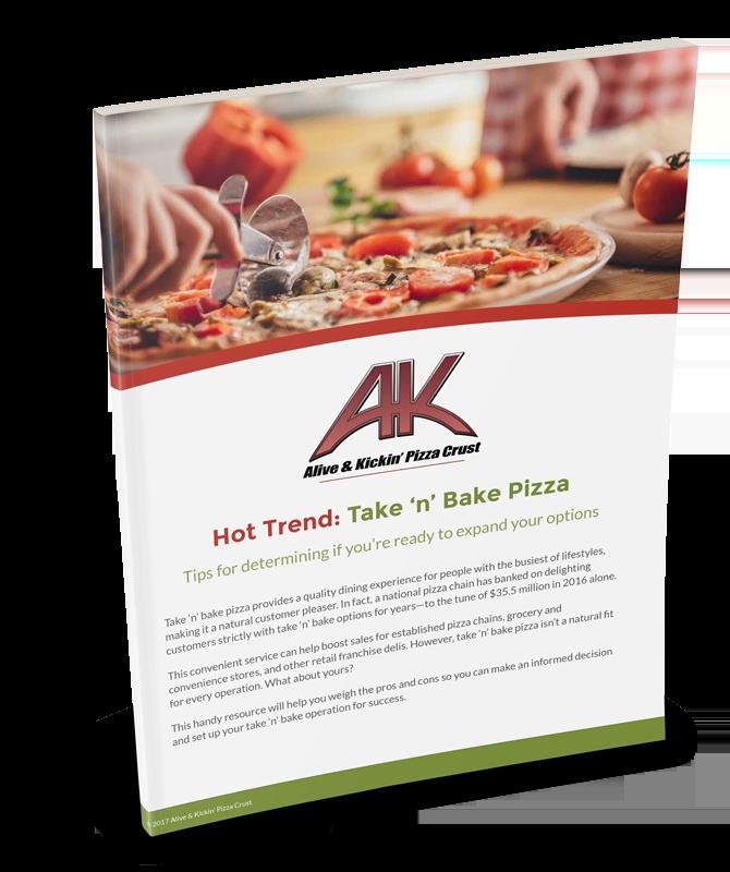 Hot Trend: Take n' Bake Pizza