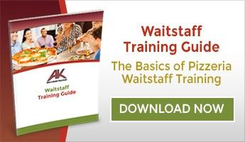 Pizzeria Waitstaff Training Guide