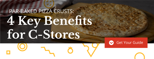 Par-Baked Pizza Crusts for C-Stores